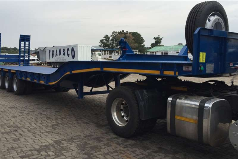 PR Trailers Trailers Stepdeck PR TRAILER QUAD AXLE STEP DECK 2020