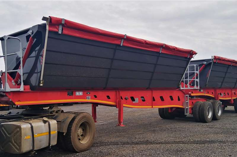 2020 PRBB  PRBB 45 CUBE SIDE TIPPER TRAILER *BRAND NEW*