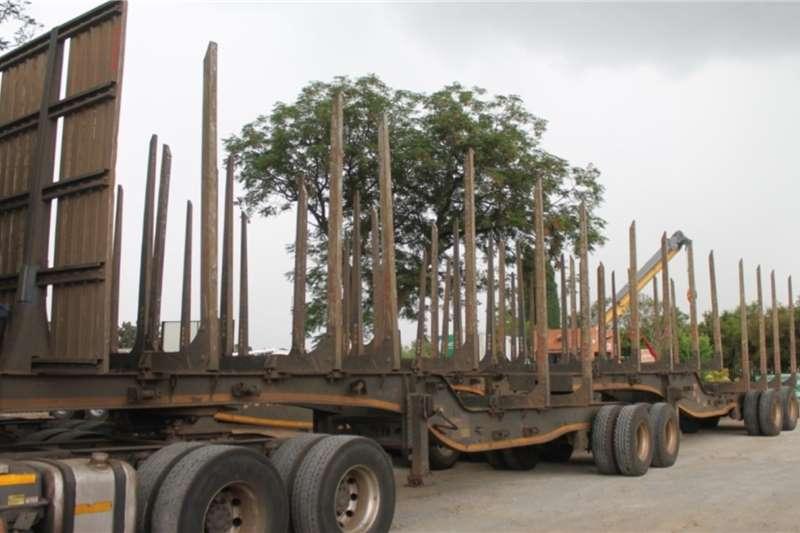 PRBB Trailers Interlink Log Carrier   Front & Rear Link 2017