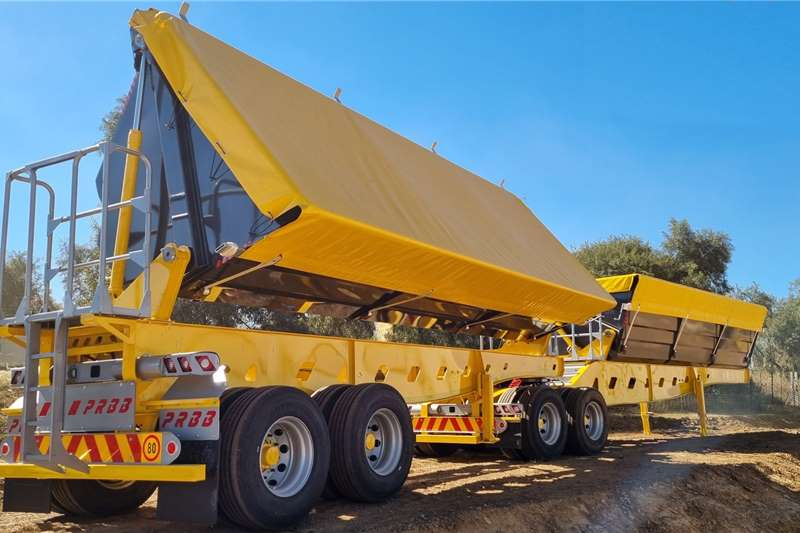 PRBB Side tipper New 45 Cubes Side Tipper Trailers