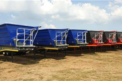 PRBB Side tipper New 45 Cubes Side Tippers Trailers