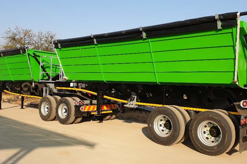 PRBB Trailers Side tipper New Side Tipper 2020
