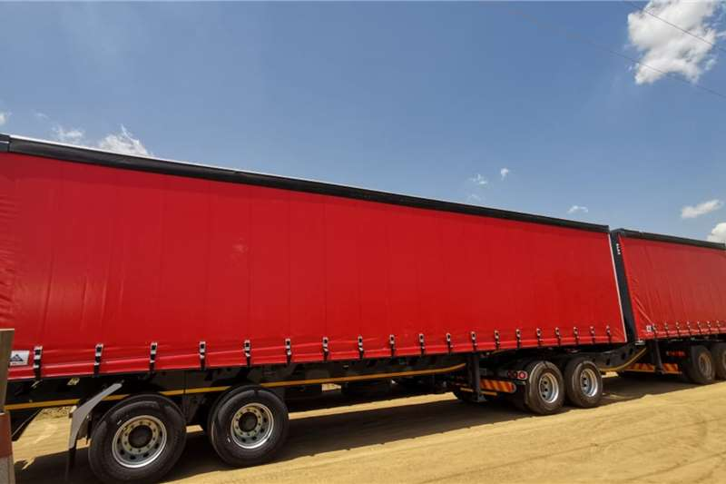 PRBB Trailers Tautliner New Curtain Side with your brand printed 2020