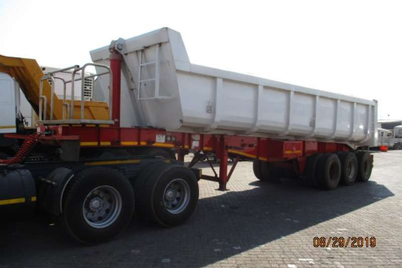 PRBB Trailers Tri-Axle PR TRAILERS TRI AXLE END TIP 2017