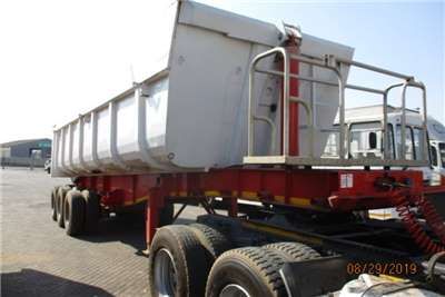 PRBB Tri-Axle PR TRAILERS TRI AXLE END TIP Trailers