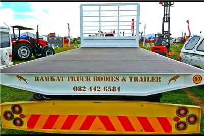 Ramkat Double axle Trailers