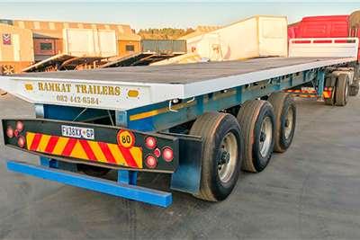 Ramkat Flat deck Tri axle Flat Deck 13m Trailer Trailers