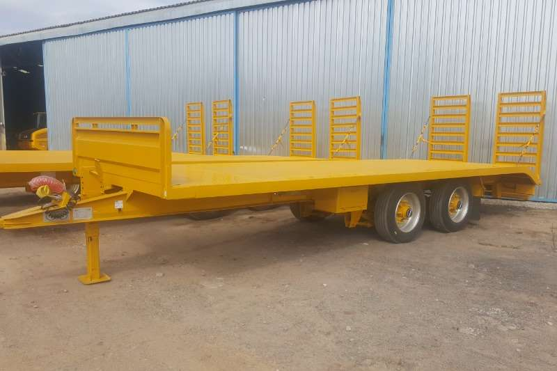 Ramkat Trailers Lowbed 2 Center Axle Lowbed Trailer 2019