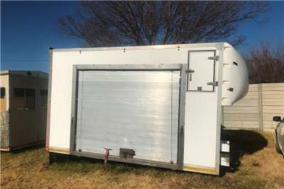 Ramkat Refrigerated body 4 ton box body Truck bodies