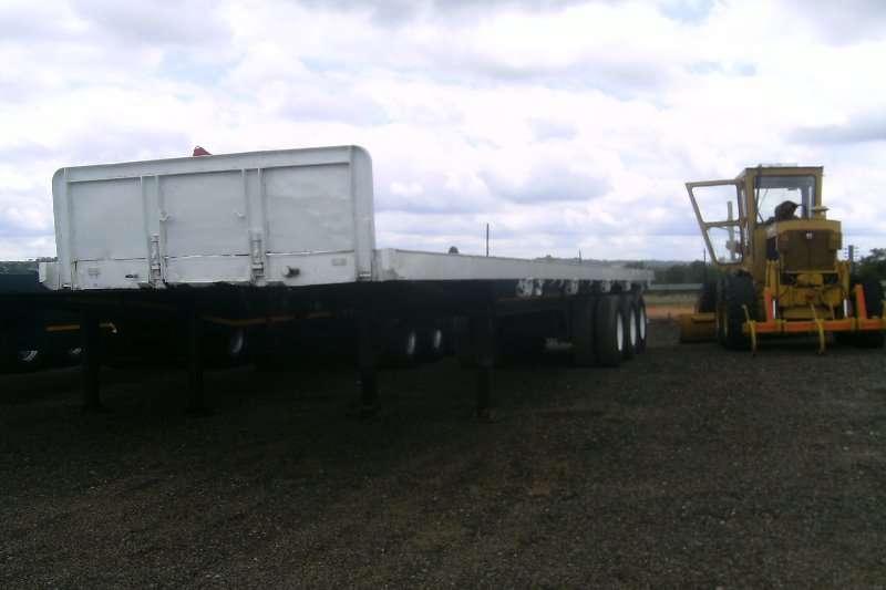 Rapid Trailers Flat Deck RAPID TRI-AXLE FLAT DECK TRAILER 2008