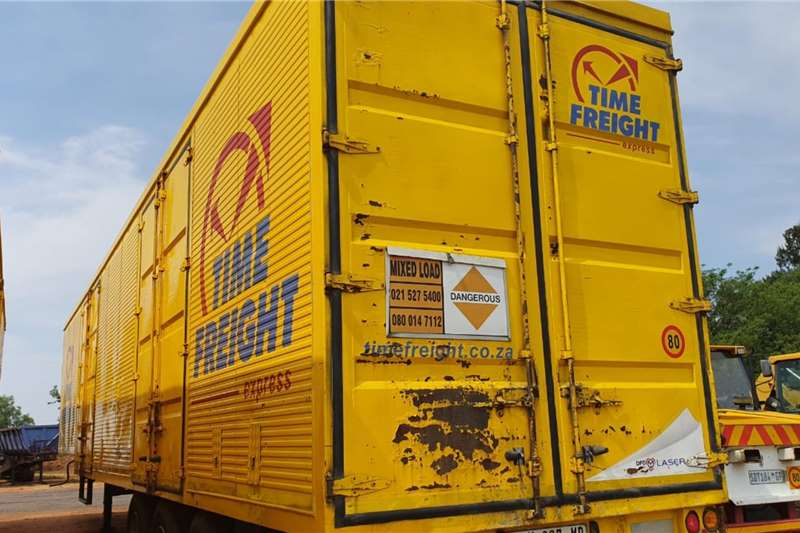 Rapid TRI AXLE BOX BODY Trailers