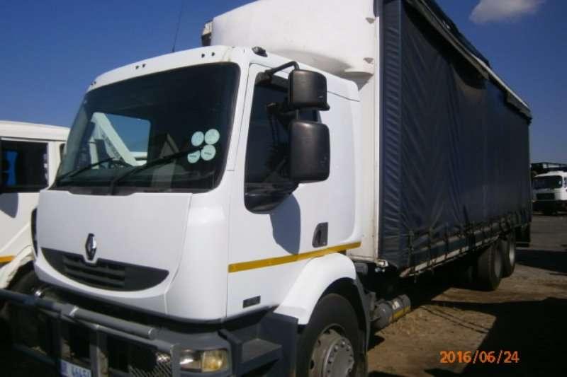 Renault Curtain Side Trucks Midlum 270DCI 2007