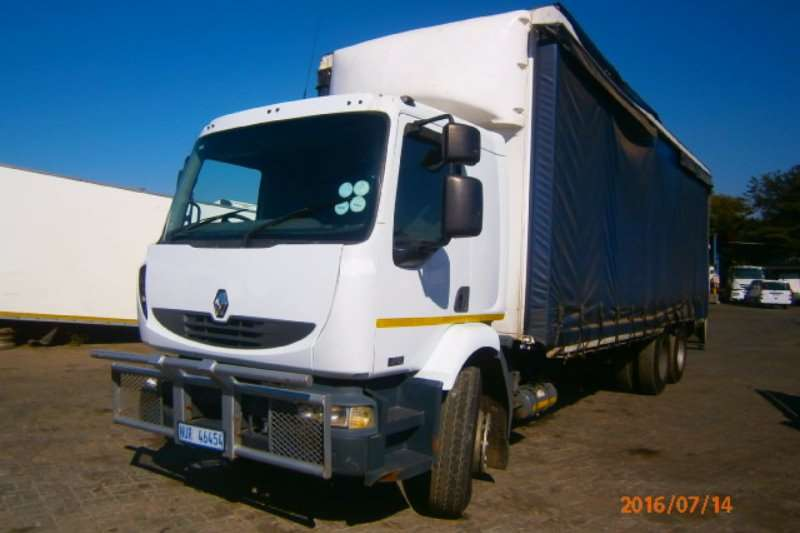 Renault Truck Curtain side Midlum 270DCI 2007