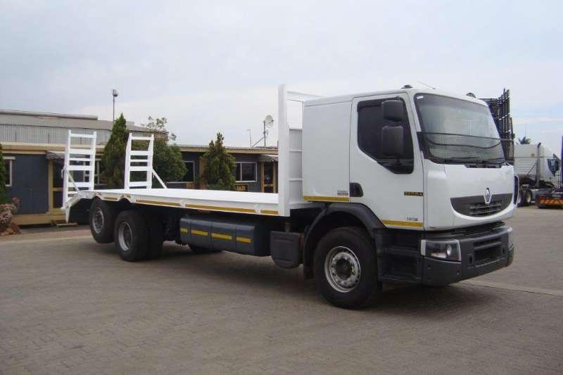 Renault Truck Flat deck PREMUIM LANDER 380 BEAVERTAIL BODY WITH RAMPS 2013
