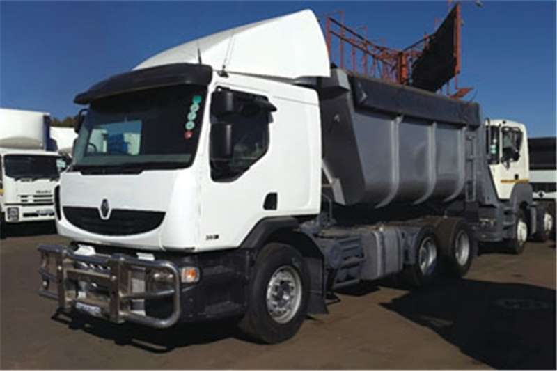 Renault Truck Tipper Renaults 380#39;s DXi 2010