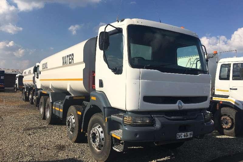 Renault Truck Water tanker 400/40 8X4 18000L 2008