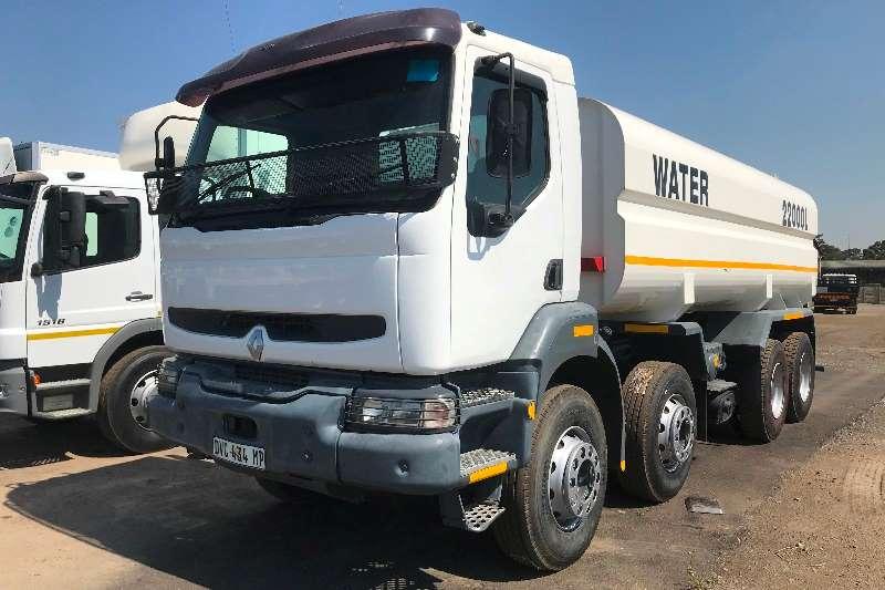 Renault Water bowser trucks Renault 400/40 8X4 22000L water tanker 2008