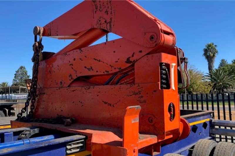 Roadhog Crane trailer Container Side Lift Crane Trailer Trailers