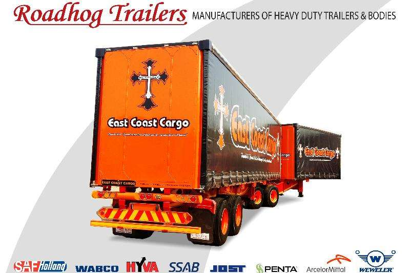 Roadhog Trailers Curtain side Curtain Side Link 2019