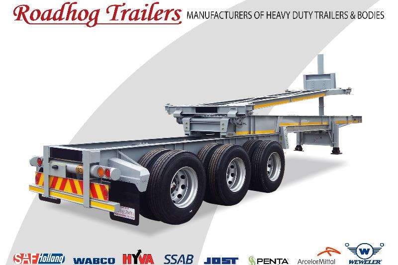 Roadhog Trailers Extendable Retractable Tipping Skeletal 2019