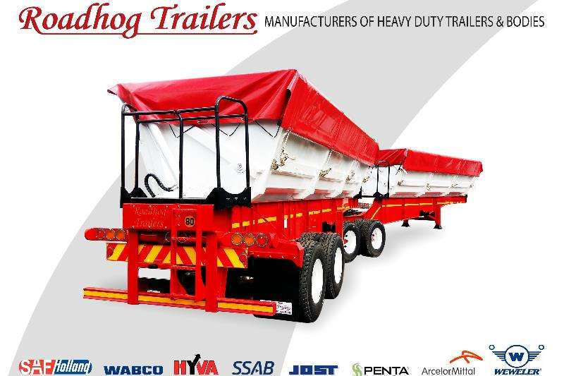 Roadhog Trailers Side tipper 45 Cube Side Tipper Link 2019