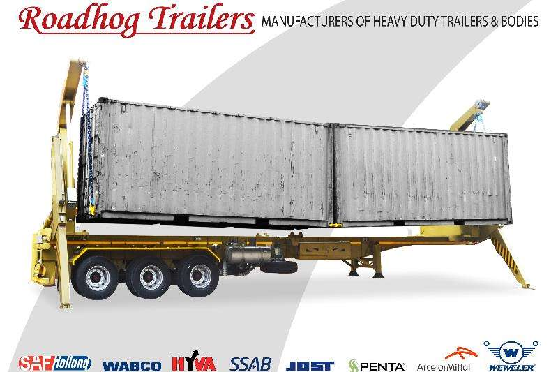 Roadhog Trailers Specialist vehicle 45 Ton Container Side Loader 2019