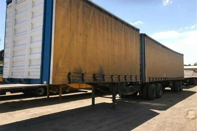 Roadhog Trailers Superlink 2008 Roadhog Superlink Drop Side 2008
