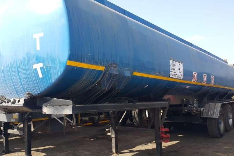 SA Road Tanker Trailers Bitumen Tanker Creosote Oil 38 754lt Tanker 2000