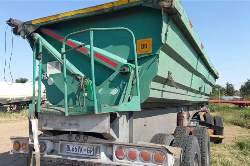 SA Truck Bodies LINK SIDE TIPPER 34 TON Interlink