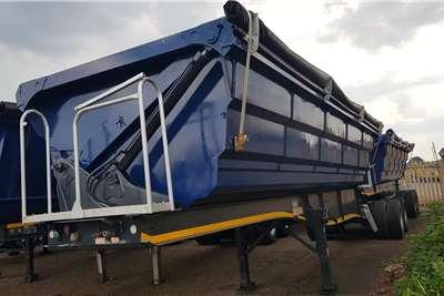 2016 SA Truck Bodies  Interlink Sidetipper
