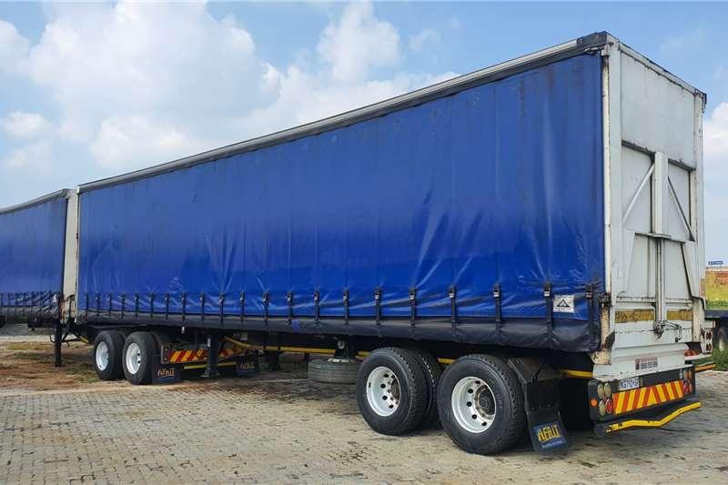 2009 SA Truck Bodies  Superlink Tautliner elevating roof