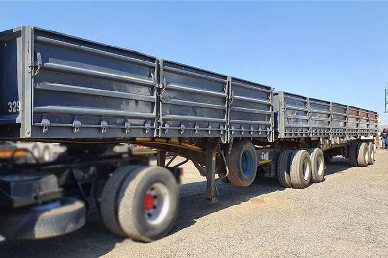 SA Truck Bodies Trailers 2 UNITS 2013 SA TRUCK BODIES DROP SIDES TRAILER 2013