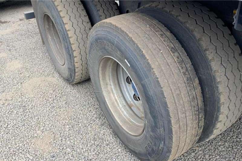 SA Truck Bodies 2002 SA Truck Bodies Flatdeck Superlink Trailer Trailers