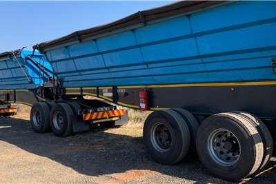 SA Truck Bodies 2013 SA Truck Bodies 40m3 Interlink Side Tipper Trailers