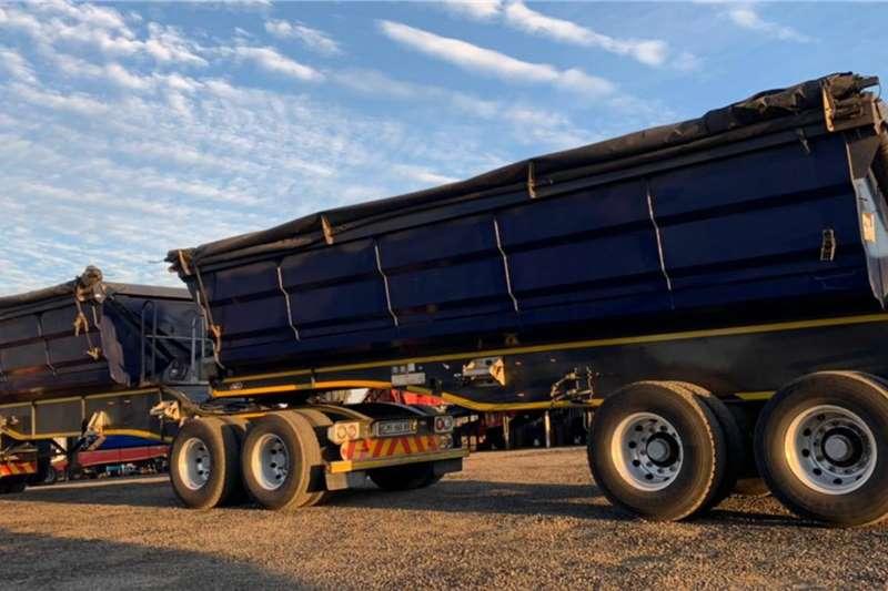 SA Truck Bodies 2018 SA Truck Bodies 45m3 Interlink Side Tipper Trailers