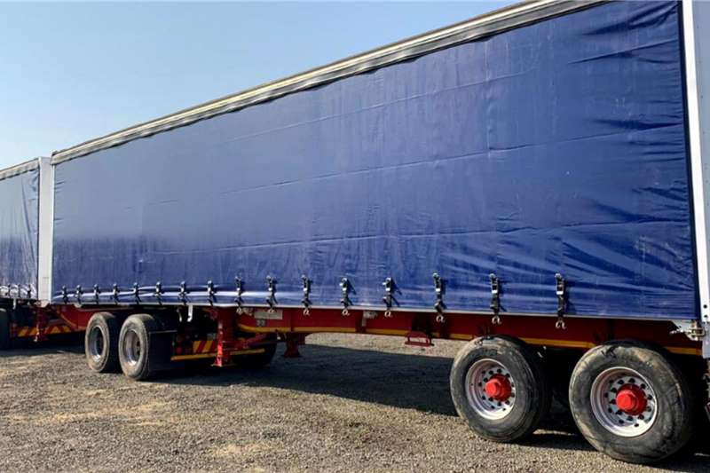 SA Truck Bodies 3 x 2009 SA Truck Bodies Tautliner Superlink Trailers