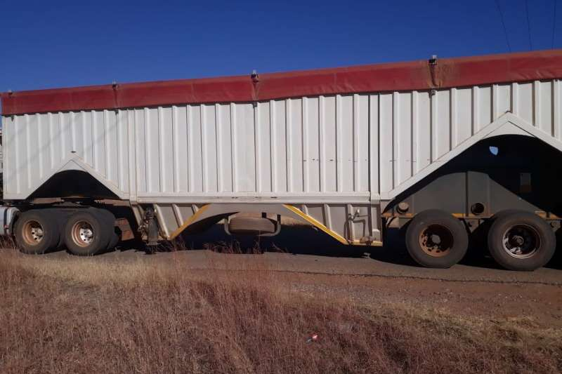 SA Truck Bodies Trailers 72 Cube Bottom Dumper 2011