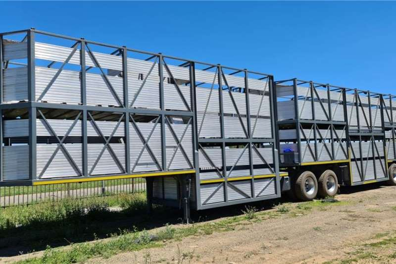 SA Truck Bodies Cattle body Cattle link 10 cage Trailers