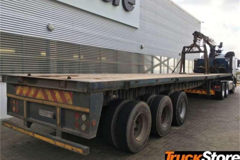 SA Truck Bodies CRANE TRAILER Trailers