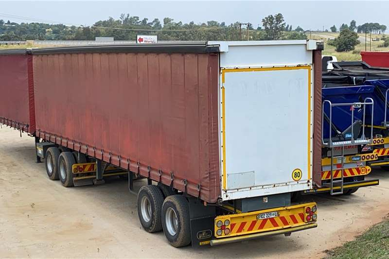 SA Truck Bodies Trailers Curtain side 2007 SATB TAUTLINER SUPERLINK 2007