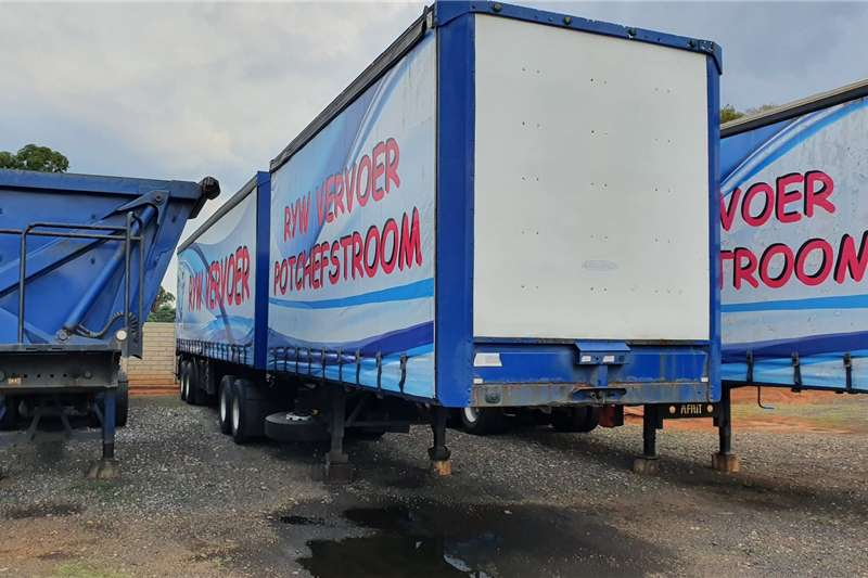 SA Truck Bodies Trailers Curtain side 6x12m super link trailers 2010