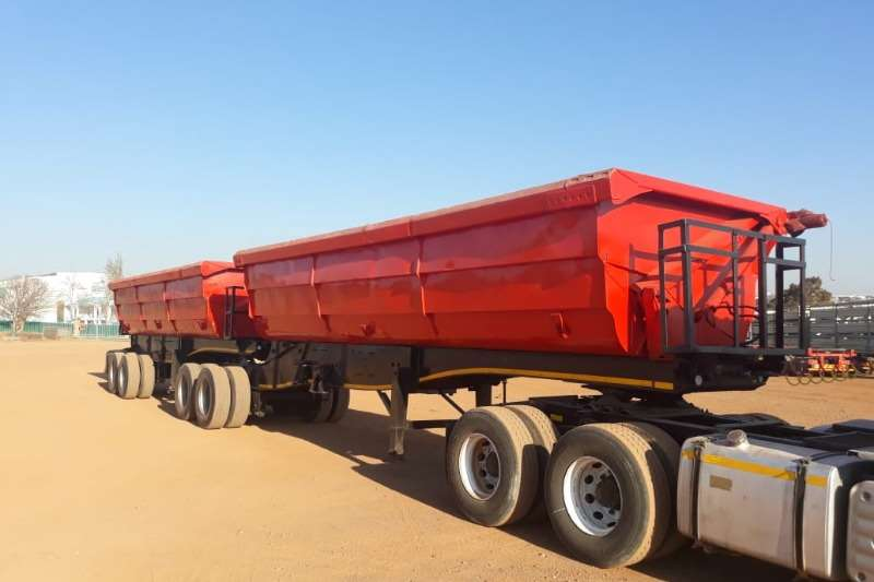 SA Truck Bodies Trailers D/A Interlink Side Tipper Trailer 2008