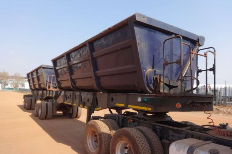 SA Truck Bodies Trailers D/A Side Tipper Trailer 2016