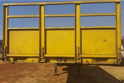 SA Truck Bodies DOUBLE AXLE FLATDECK SUPER LINK Trailers