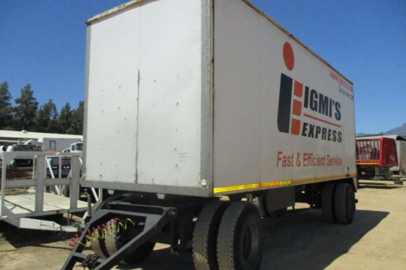 SA Truck Bodies Trailers DRAWBAR TRAILER 2004