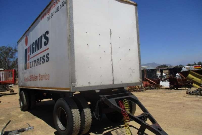 SA Truck Bodies DRAWBAR TRAILER Trailers