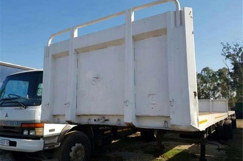 SA Truck Bodies Trailers Flat deck 1996 SA Truck Bodies Interlink Flatdeck 1996