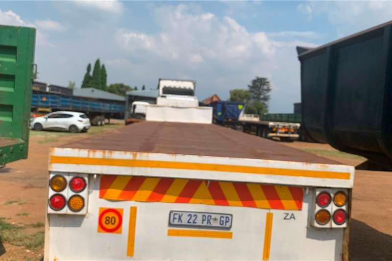 SA Truck Bodies Trailers Flat deck 1996 SA TRUCK BODIES LINK FLAT DECK 1996
