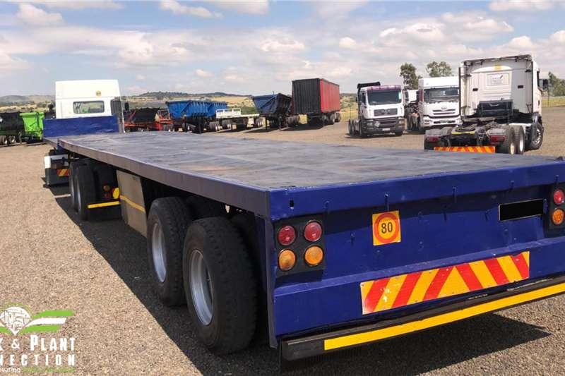 SA Truck Bodies Trailers Flat deck 2001 SA Truck Bodies Flatdeck 2001