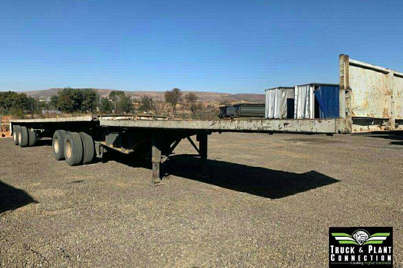 SA Truck Bodies Trailers Flat deck 2001 SA Truck Bodies Flatdeck Super Link Trailer 2001